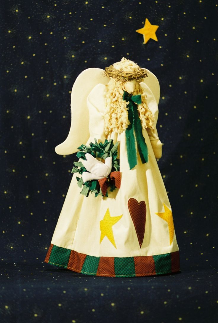Cloth+Doll+E-Pattern-+21in+Christmas+Angel+Epattern