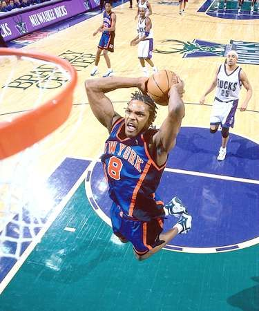 Latrell Sprewell (during his Warriors & NYK days)