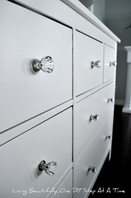 Dresser Hardware I Used Inexpensive Gl Look A Likes Found At Target