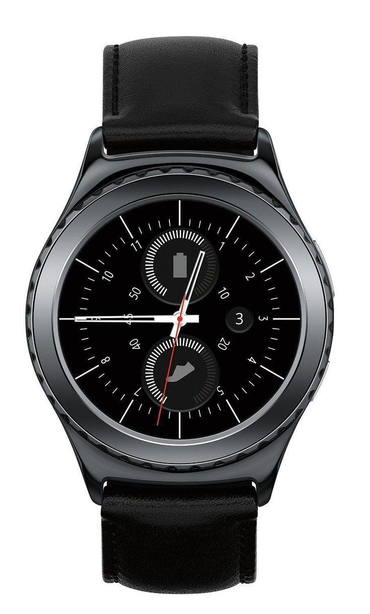Samsung Gear S2 Classic 3G 4G GSM Unlocked Watch Black Smartwatch Android iOS, http://myalphastore.com/shop/samsung-gear-s2-classic-3g-4g-gsm-unlocked-watch-black-smartwatch-android-ios/