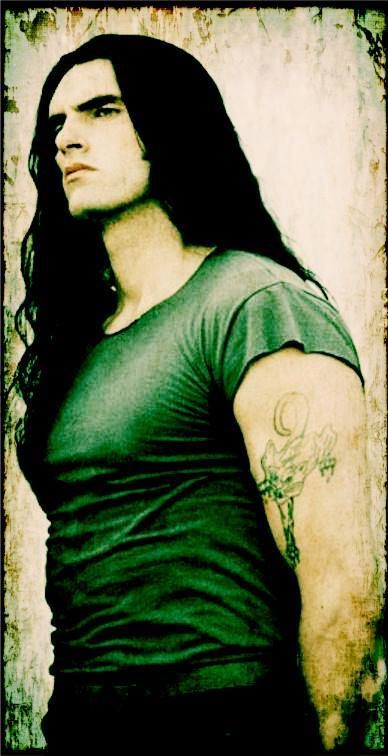 Peter Steele.  I'm so sad he isn't with the world anymore. A treat for the eyes and the ears.