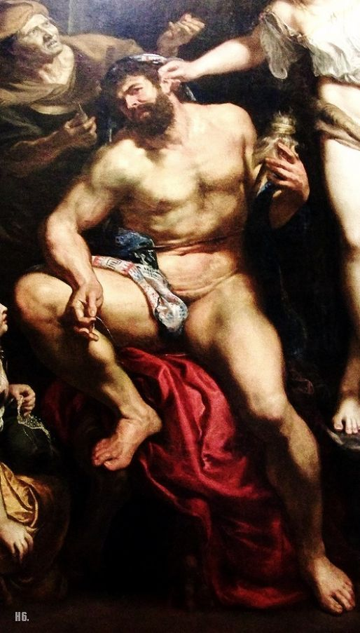 Peter Paul Rubens - Hercules and Omphale (detail). Tags: hercules, heracles, herakles, omphale, omfale,