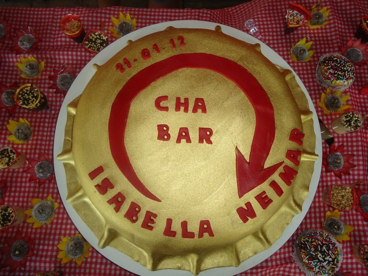 O Meu Casamento: Chá Bar! Tema Boteco!