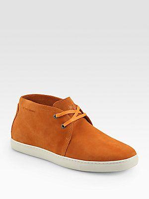 Boss Orange Loxio Suede Chukka Sneakers