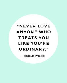 Bc to someone else I'm extraordinary.