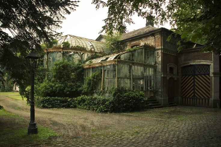 régi üvegház