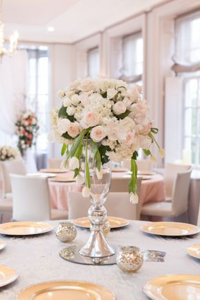Table Bouquet by Fete Flowers captured at Mclean House, Estates of Sunnybrook. photo: www.eyecontact.ca