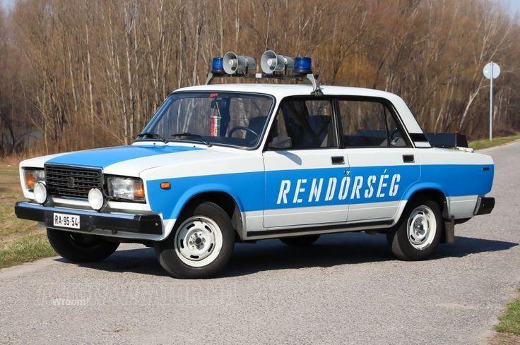 Lada Riva 2107 | police in Hungary