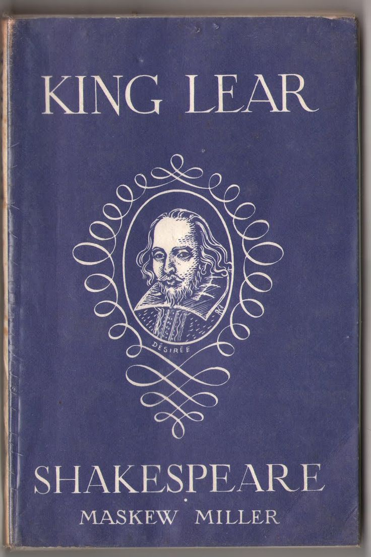 the role of the fool in king lear by william shakespeare The fool in shakespeare's king lear roles and function - anne lipp - term  paper - english language and literature studies - literature - publish your.