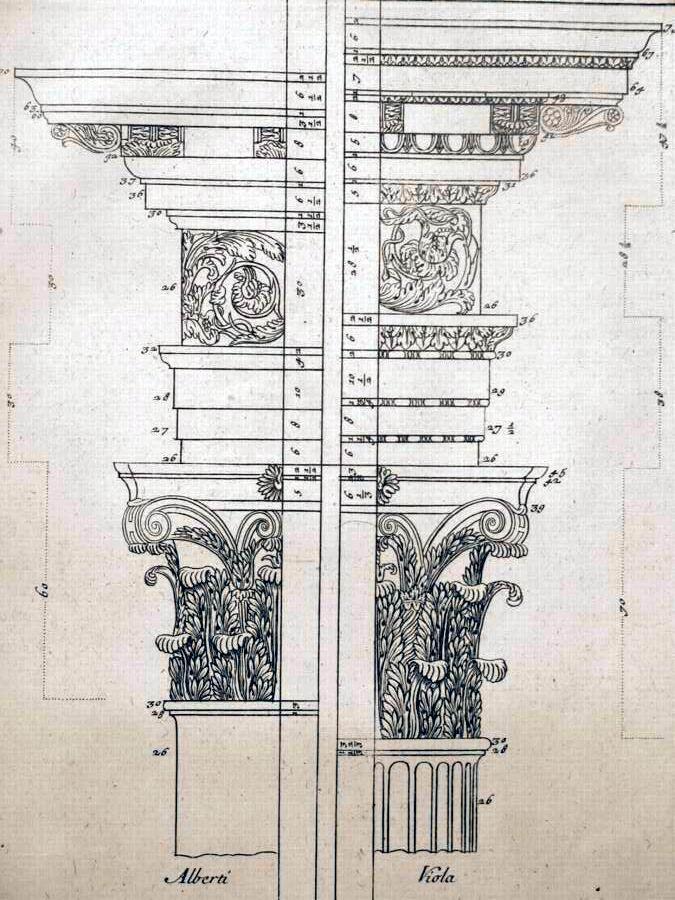Fréart de Chambray - Parallèle de l'architecture Antique avec la moderne