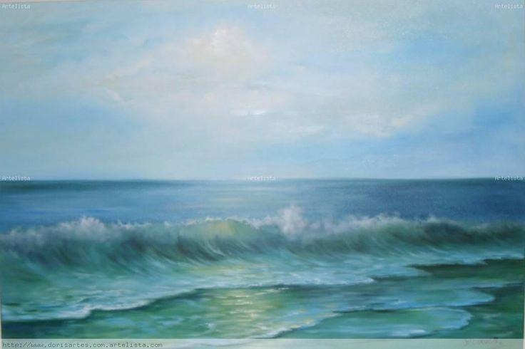pinturas del mar al oleo - Buscar con Google