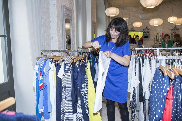 Pani Anna Korcz była zachwycona nową kolekcją... Przymiarkom nie było końca. #qsq #fashion #work #press #AnnaKorcz