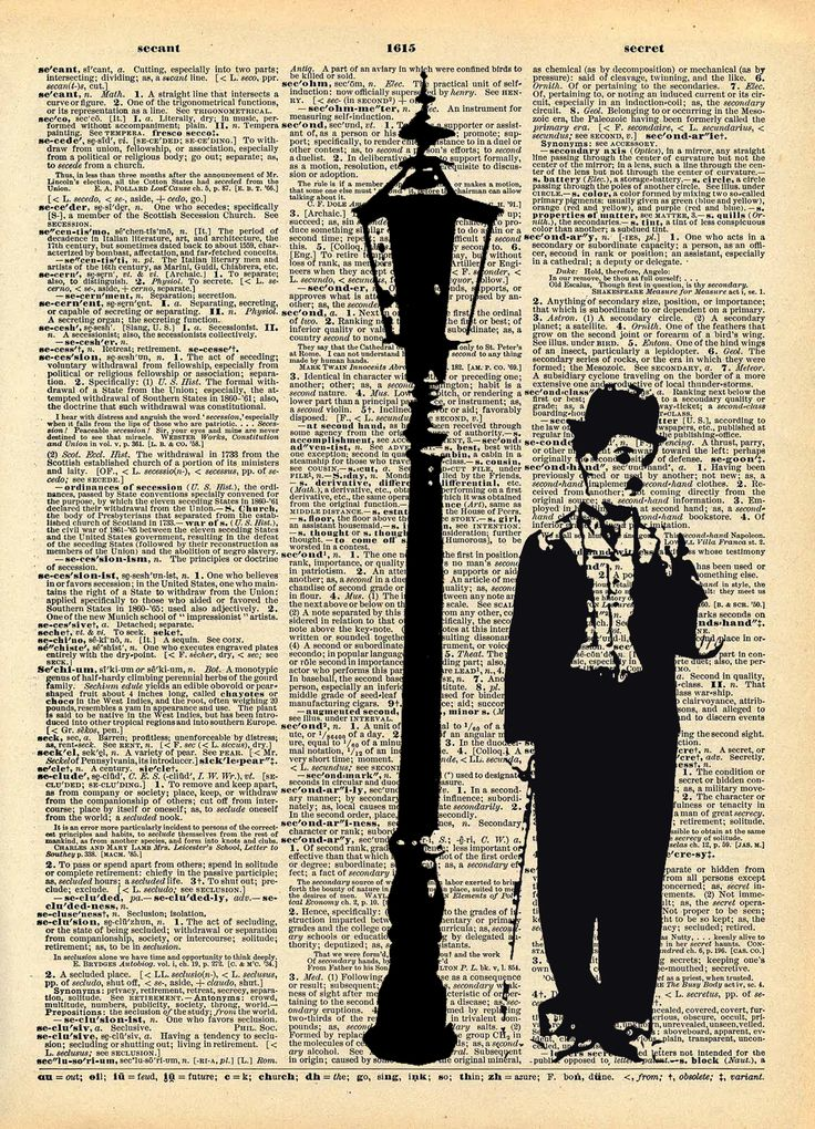 Serie Cinematic - stampa Charlie Chaplin http://it.dawanda.com/shop/FrammentiDesign