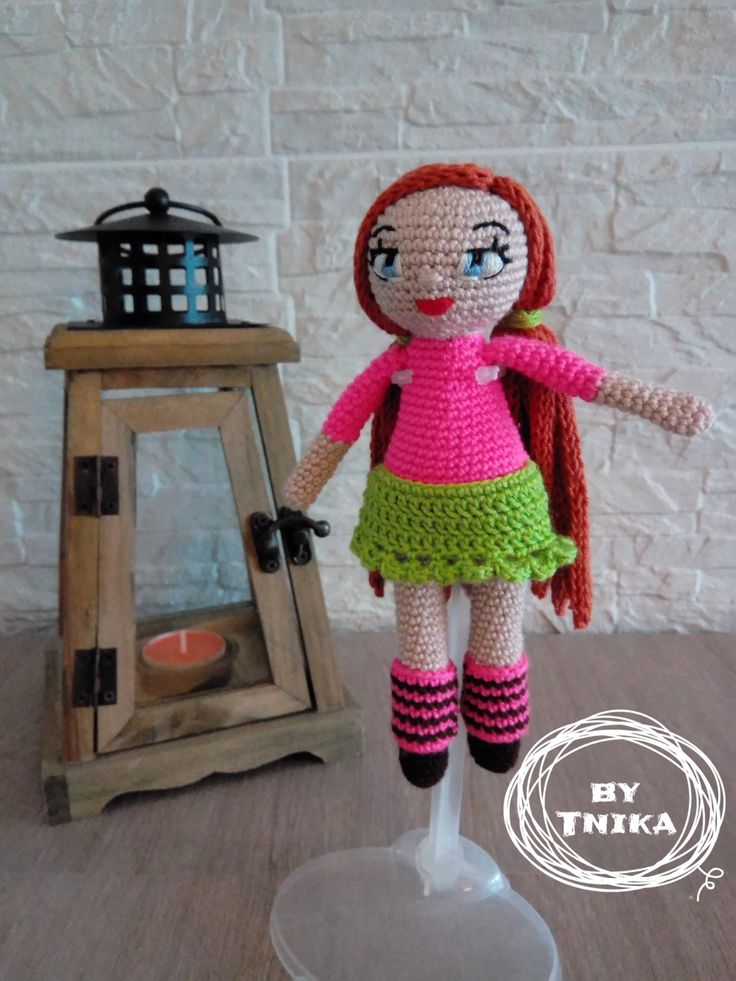 Crochet doll HOLLY, doll by Tnika