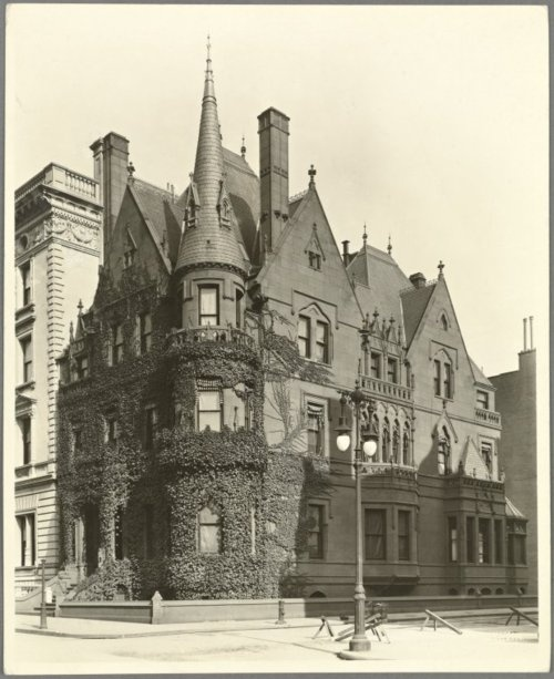 Jay Gould Residence, 89th and Fifth Avenue, Manhattan.