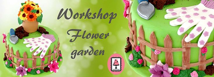 Workshop Flower garden   TWINKELCAKE  mariakerke shop  notentenstraat 6