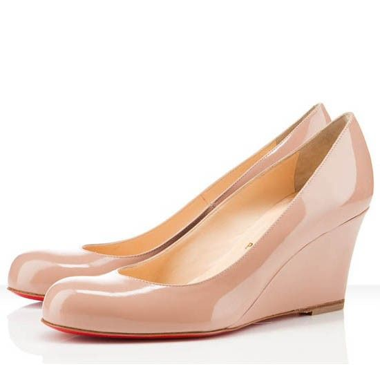 Nude low wedges Nude Photos 46
