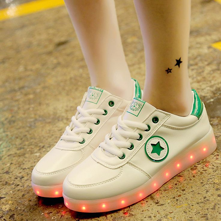Nice 2017 New Graffiti Glowing Luminous Sneakers with Light Sole Kids Boys Tenis Feminino Baskets Light Up Shoes Girl tenis feminino - $ - Buy it Now!