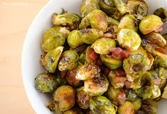 Roasted Brussel sprouts with pancetta and balsamic vinegar | Side ...