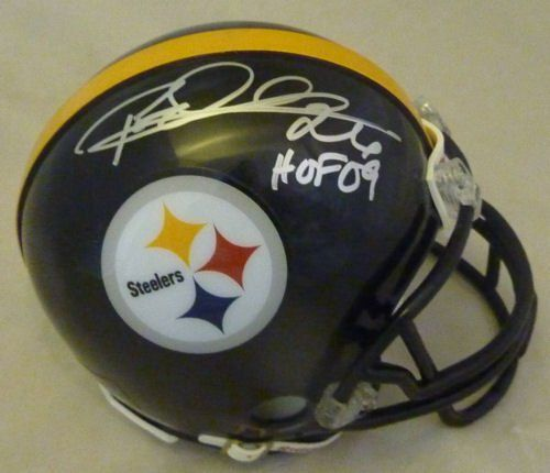 Rod Woodson Pittsburgh Steelers Helmets