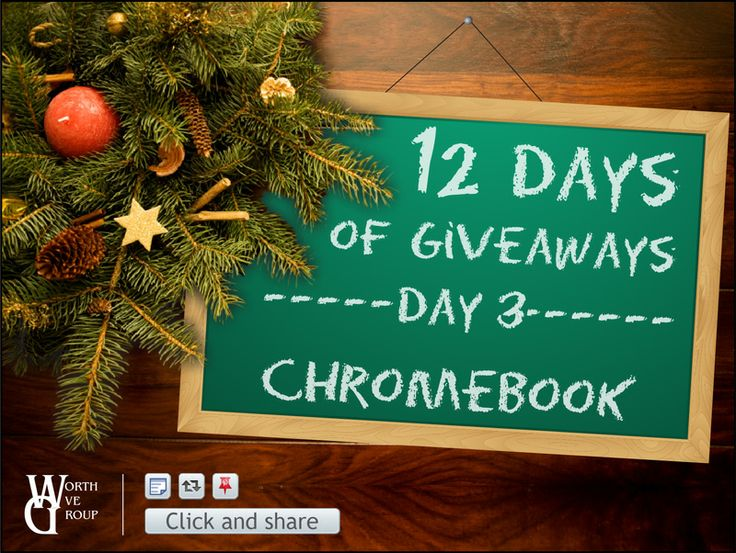 !2 days of Christmas day 3 Chromebook