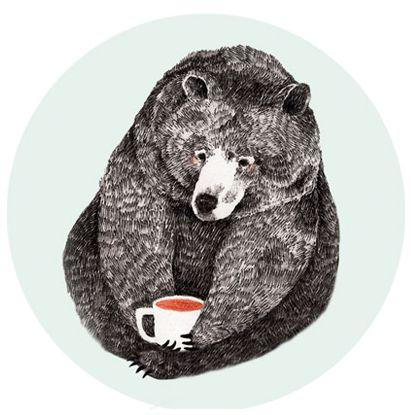 always with her tea cup - Lieke van der Vorst