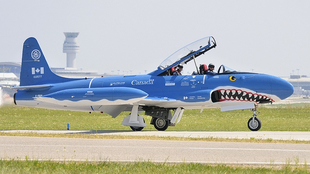 RCAF T-33. Used mainly for training in Canada and the U.S. Pinned by Tburg