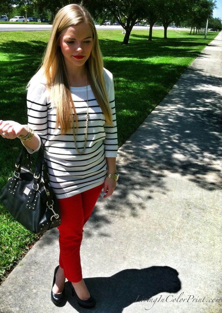 Classic Red Pants