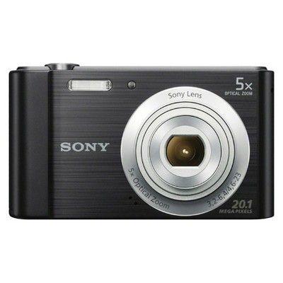 Sony W800/B 20MP Digital Camera with 5X Optical Zoom