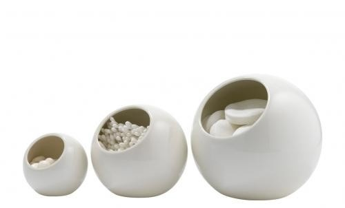 Igloo containers - ceramic - at mydeco.com - Shop for your home from Europe's best boutiques. This product is delivered by Nordic Elements
