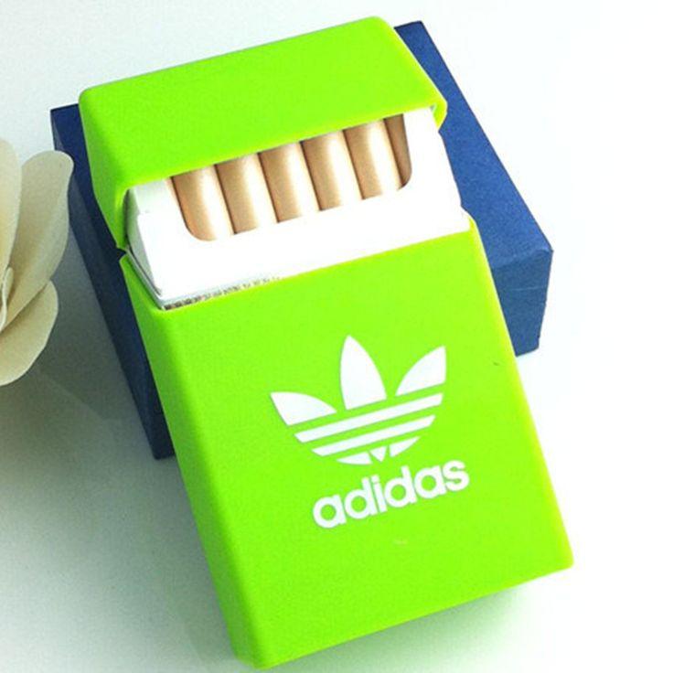 Mannen Vrouwen Sport Siliconen Sigarettenkoker Cover Leisure Pocket Elastische Rubber Draagbare Mannen Sigaret Geschenkdoos Mouw