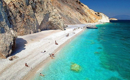 Lalaria beach, Skiathos, Greece,