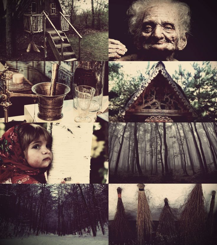 "Baba Yaga ""Baba Yaga hails from the place where fear and wisdom meet, she straddles the gap between life and death and holds the secret to both. "" Also known as Jezda or Jazi Baba, Baba Yaga is an old..."