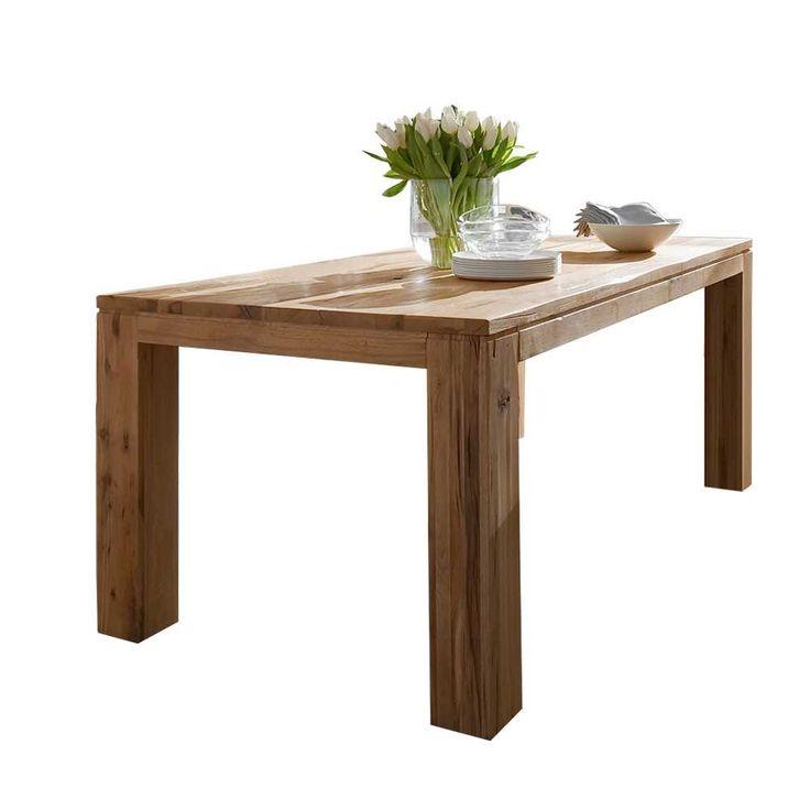 Esstisch Aus Eiche Massivholz Mit Gebrauchsspuren Holztischmassivholztischkchentischesszimmertischholztisch Massivechtholztischtisch