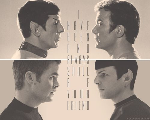 Spock and Kirk