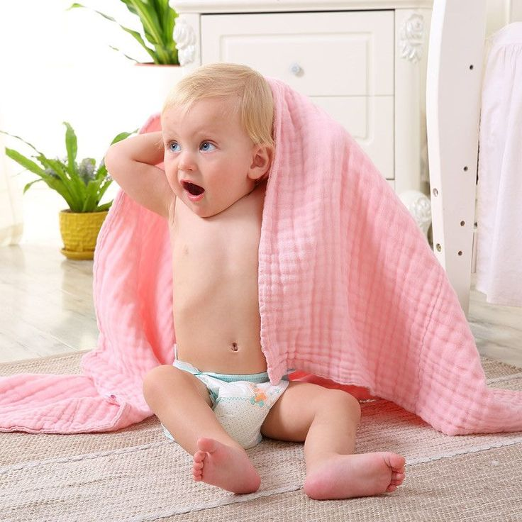 Baby Bath Towel 100% Cotton Absorbent Drying Bath New Born Baby Beach Towel Washcloth baby gauze blanket Children washcloth