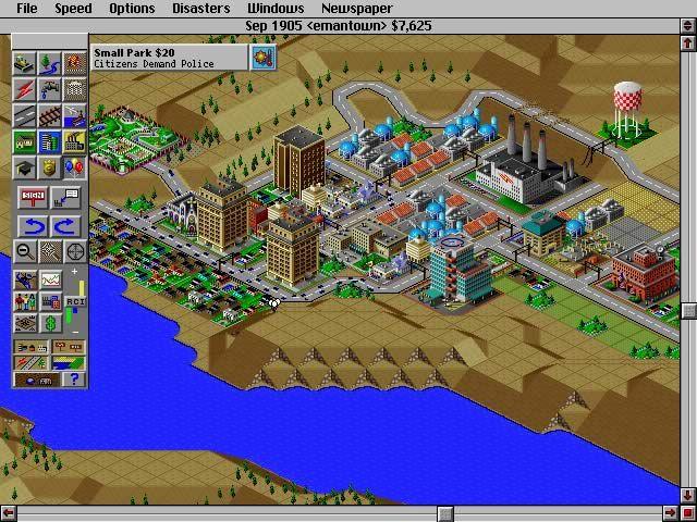 SimCity 2000 screenshot