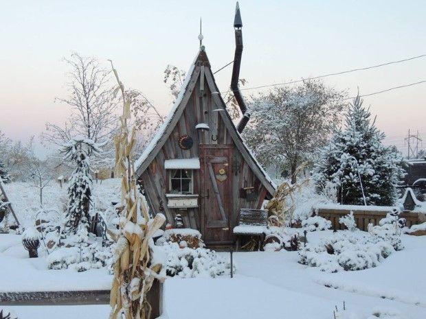 Malé drevené chatky, akoby z rozprávky vystrihnuté | Dan Pauly 3