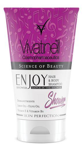 After Sun Saç ve Vücut Şampuanı /  Enjoy Shower After Sun Hair and Body Shampoo