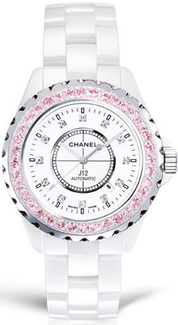 CHANEL with pink diamonds