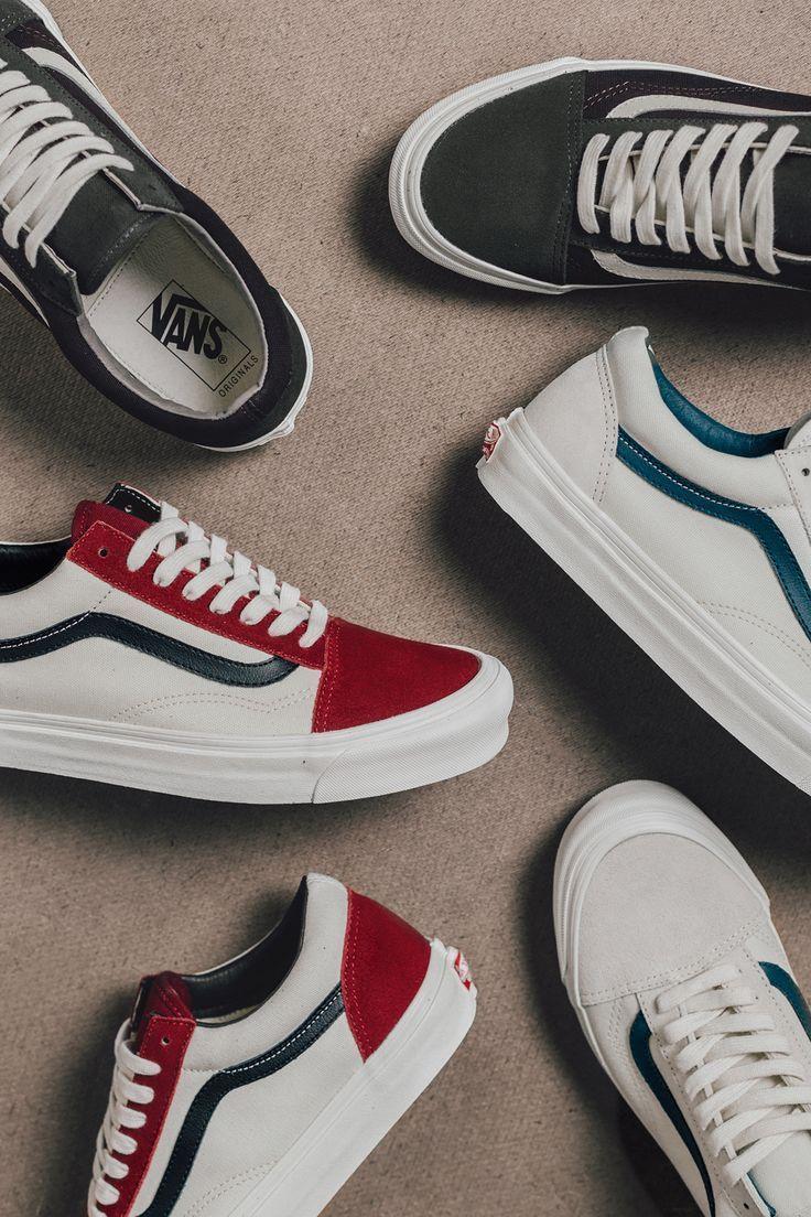 """The Best Men's Shoes And Footwear : Vans Vault """"Old Skool"""