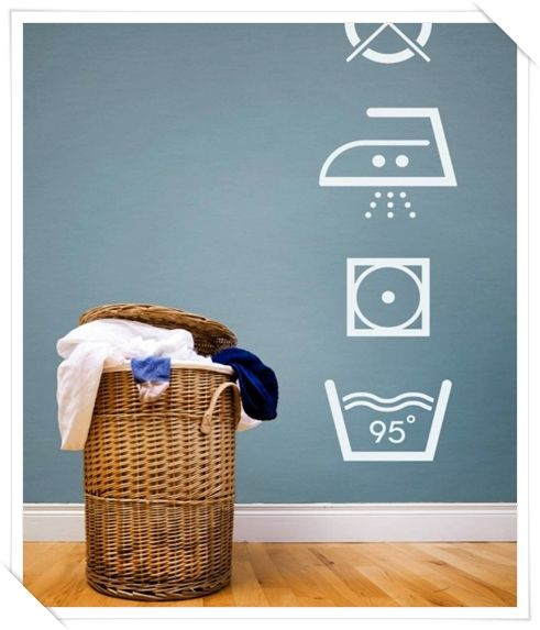 stickers per lavanderia - stickers for laundry