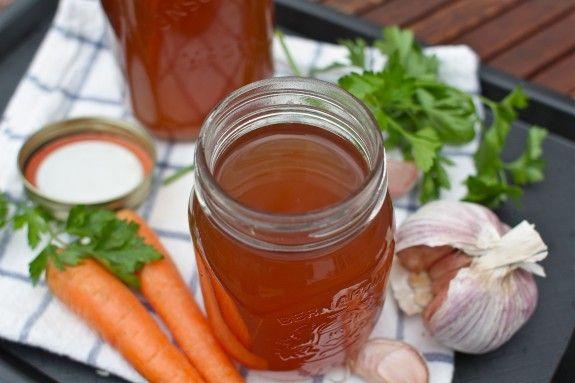 Basic Homemade Vegetable Stock