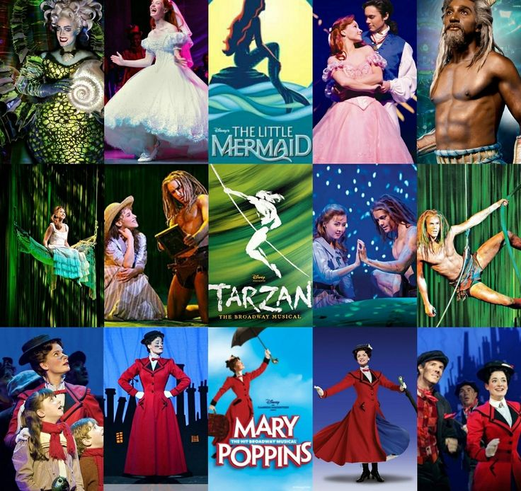 The Little Mermaid ~ Tarzan ~ Mary Poppins Disney on Broadway...CANT WAIT FOR FROZEN