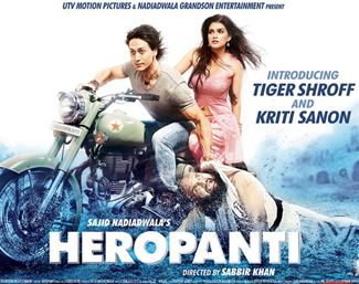 Heropanti Movie Review: What's Good: Tiger Shroff's impressive action stunts and dance moves, Kriti Sanon's screen presence and an amazing music score!