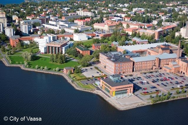 The University of Vaasa. www.visitvaasa.fi. Photo: Jaakko J Salo
