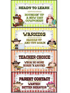 KINDERWORLD: Western Theme Classroom