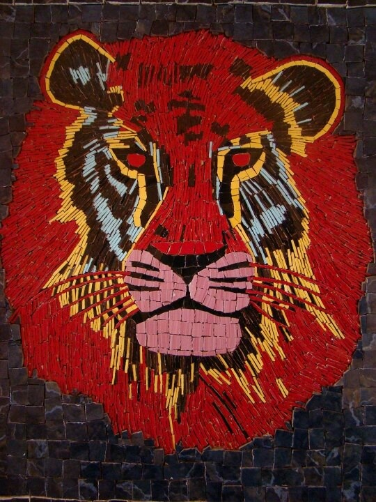 Mosaico leon