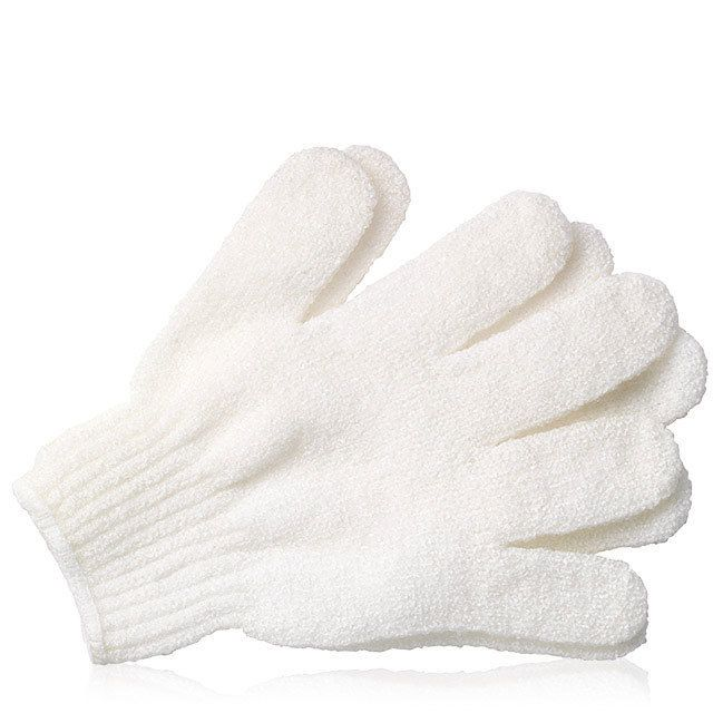 Exfoliating Bath Gloves Orange