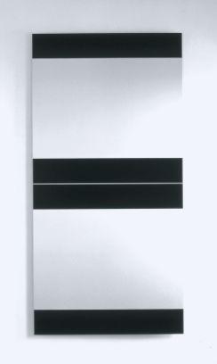 Frank Gerritz | Coded Language, 2001 | Paintstick on anodized Aluminium